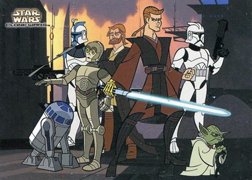2004 Star Wars Clone Wars Cartoon
