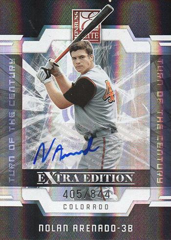 2009 Elite Extra Edition Nolan Arenado Autograph