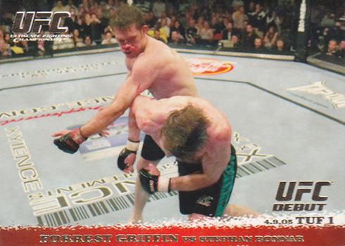 2009 Topps UFC Round 1 Forrest Griffin