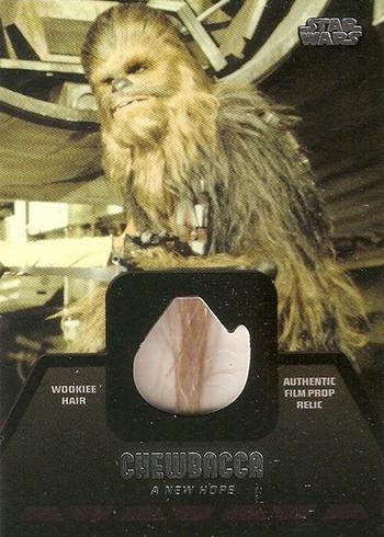 2013 Star Wars Jedi Legacy Chewbacca Fur Relic
