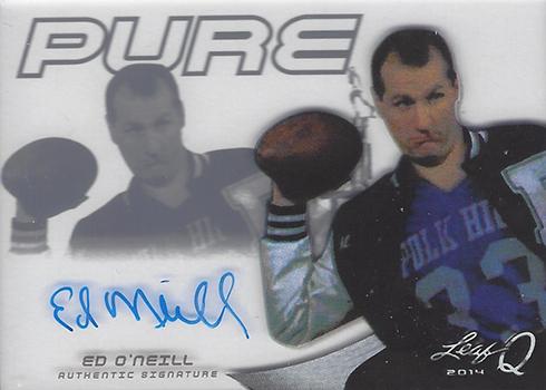 2014 Leaf Q Pure Autographs Ed ONeill