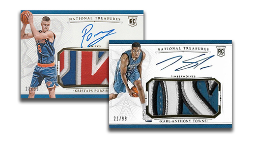 2015-16 National Treasures Rookie Patch Autographs Header
