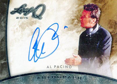 2015 Leaf Q Al Pacino Autograph