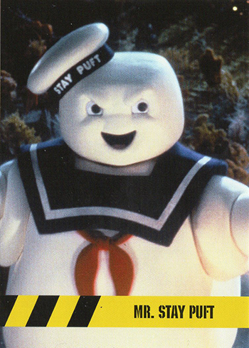 2016 Cryptozoic Ghostbusters Character Profiles C9 Stay Puft