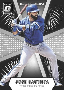 2016 Donruss Optic Baseball Illusion