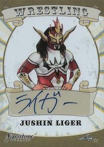 2016 Leaf Signature Series Wrestling Jushin Liger