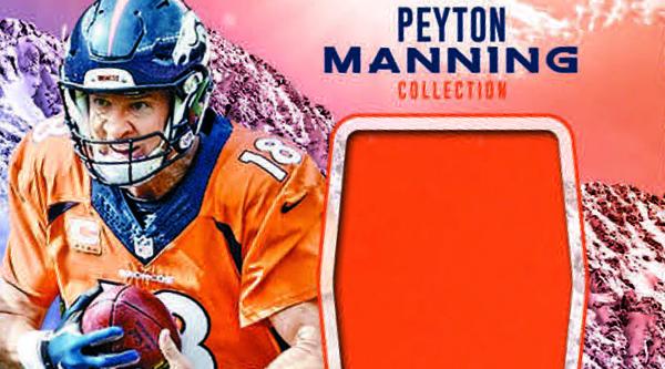 2016 Panini Certified Football Peyton Manning Collection header