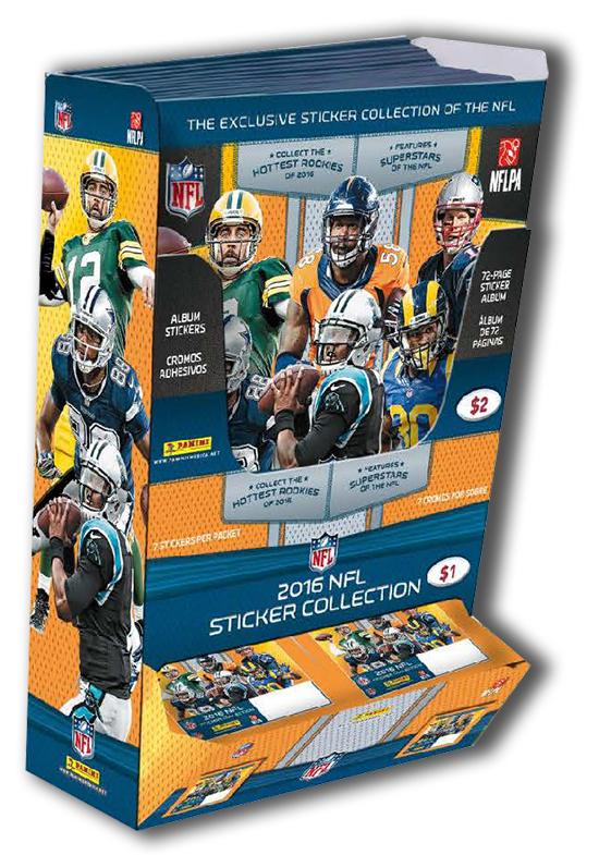 2016 Panini NFL Stickers