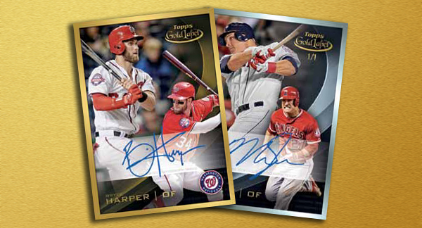 2016 Topps Gold Label Baseball Header