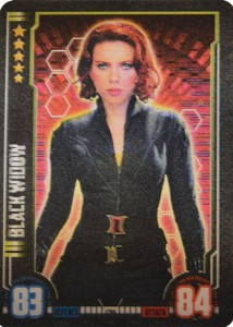 2016 Topps Hero Attax Marvel Cinematic Universe Limited Edition Black Widow