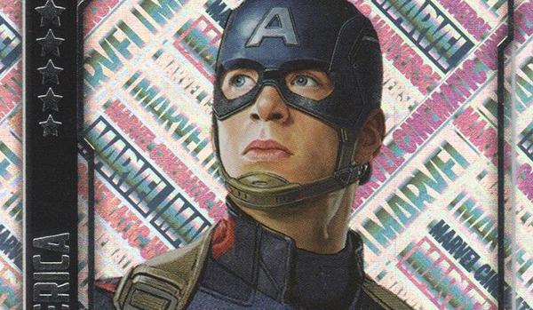 2016 Topps Hero Attax Marvel Cinematic Universe Unique Holofoil Captain America header