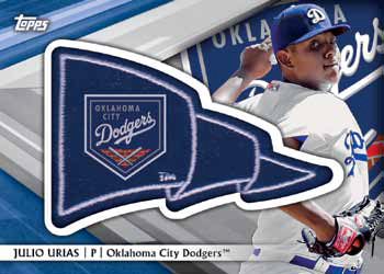 2016 Topps Pro Debut Baseball Checklist - Pennant Patches
