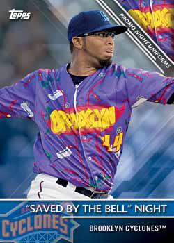 2016 Topps Pro Debut Baseball Checklist - Promo Night Uniforms