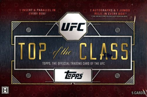 2016 Topps UFC Top of the Class Hobby Box