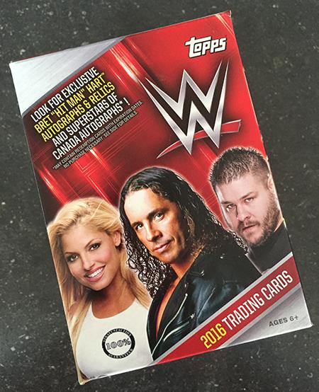2016 Topps WWE Canadian Blaster