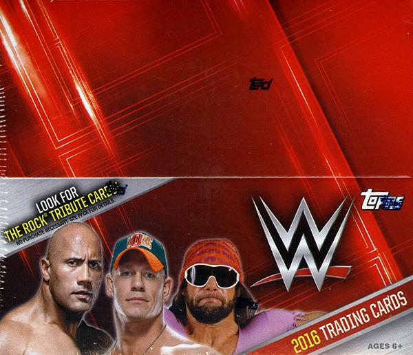 2016 Topps WWE Hobby Box