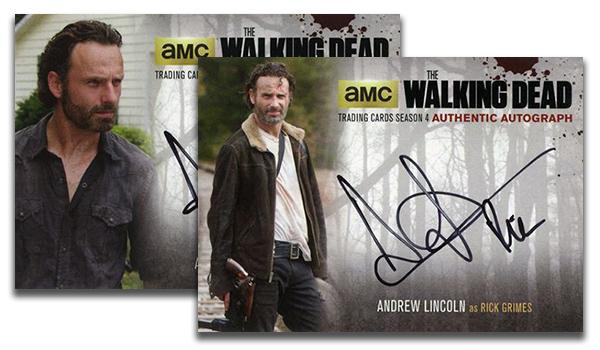 2016 Walking Dead Autographs Header