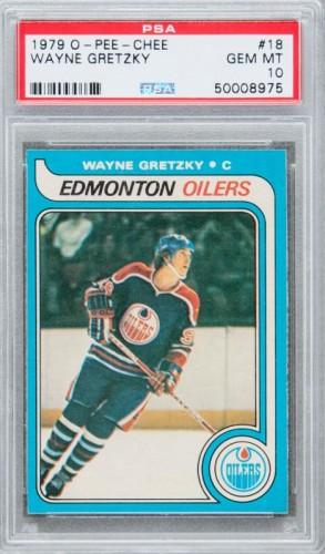 Gretzky rookie card PSA 10