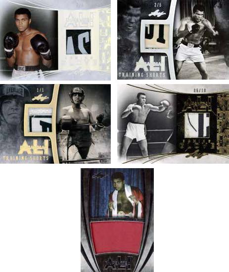 Leaf Muhammad Ali Immortal Collection Memorabilia