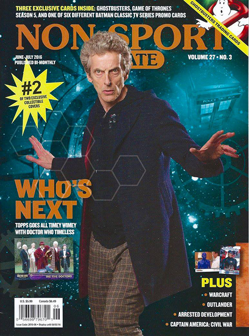 NSU June-July 2016 Dr Who