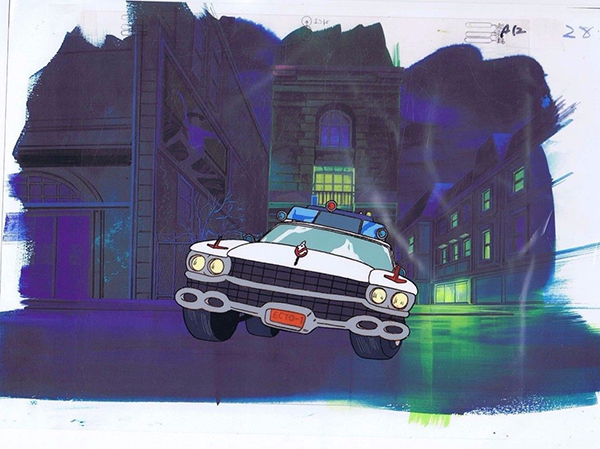 Real Ghostbusters Cel Ecto-1