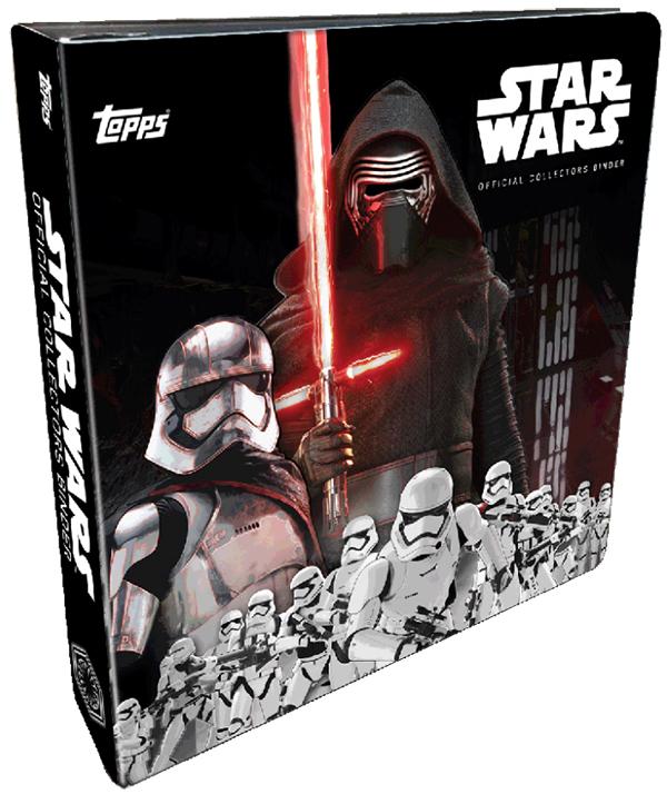 Topps Star Wars Force Awakens Binder Evil