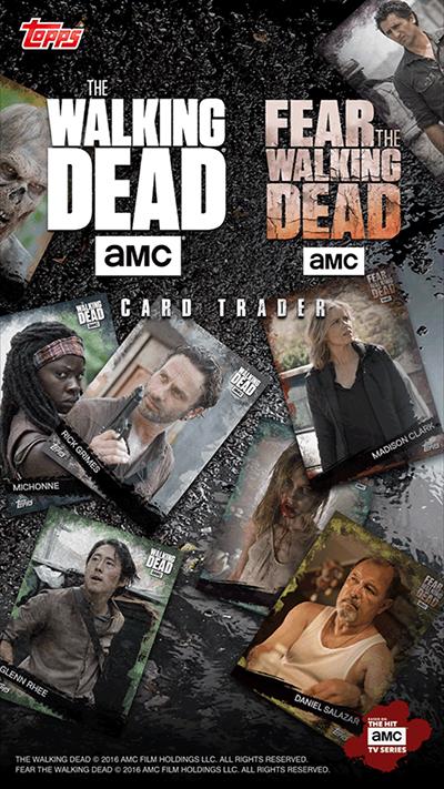 Walking Dead Card Trader Splash Screen