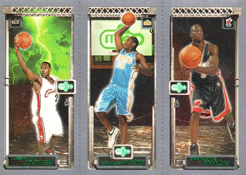 03-04 Topps Rookie Matrix LeBron Anthony Wade