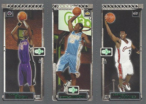 03-04 Topps Rookie Matrix LeBron Bosh Anthony