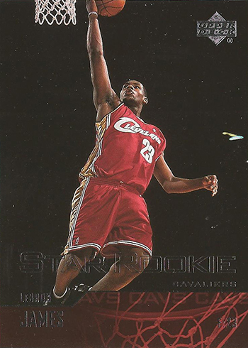 03-04 Upper Deck LeBron