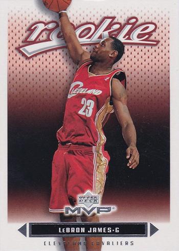 03-04 Upper Deck MVP LeBron