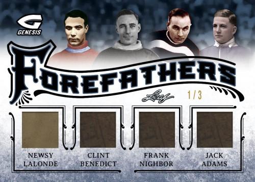 2015-16 Leaf Genesis Hockey Forefathers