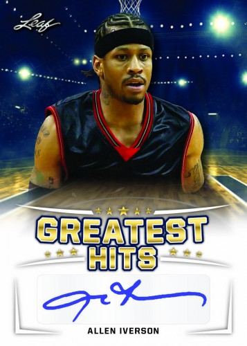 2016 Leaf Greatest Hits Basketball Iverson