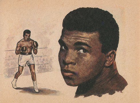 1965 Bancroft Tiddlers Cassius Clay 12