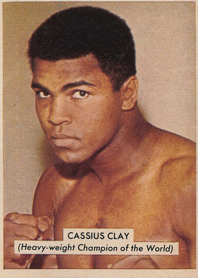 1966 DC Thomson Hornet Gallery of Sport Cassius Clay