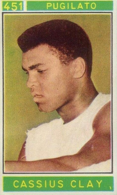 1967 Panini Campioni Dello Sport Cassius Clay 451