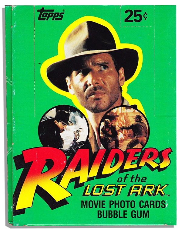 1981 Topps Raiders of the Lost Ark Box