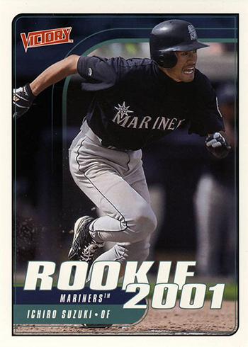 2001 Upper Deck Victory Ichiro