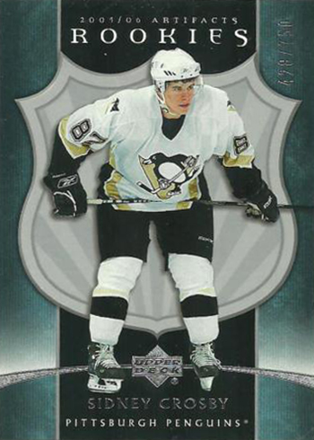 2005-06 Artifacts Sidney Crosby RC