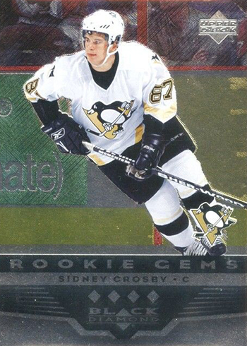 2005-06 Black Diamond Sidney Crosby RC