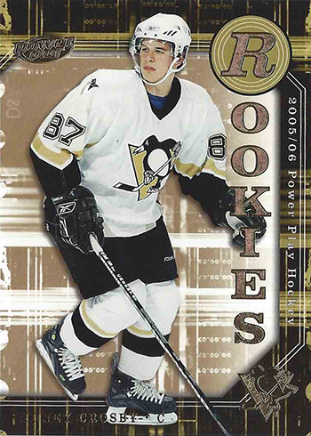 2005-06 Upper Deck Power Play Sidney Crosby RC