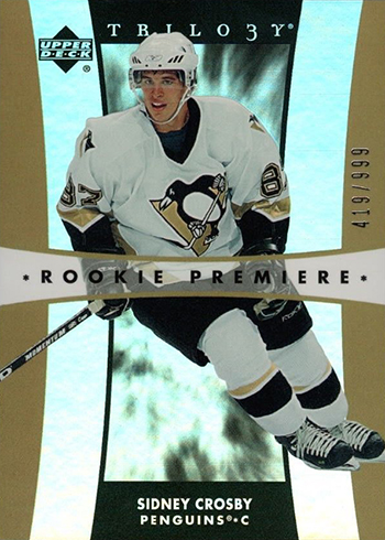 2005-06 Upper Deck Trilogy Sidney Crosby RC