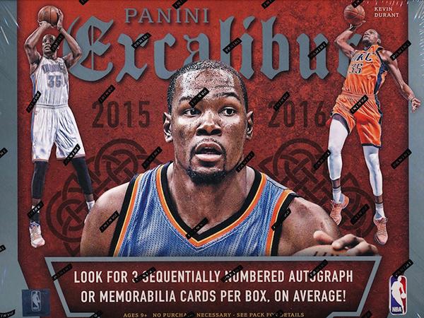 2015-16 Panini Excalibur Hobby Box