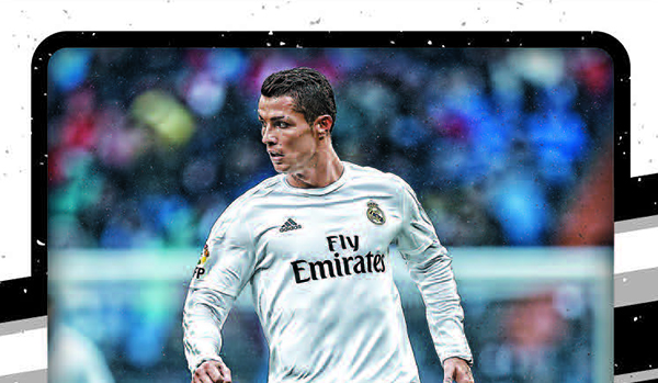 2016-17 Donruss Soccer Base Ronaldo header