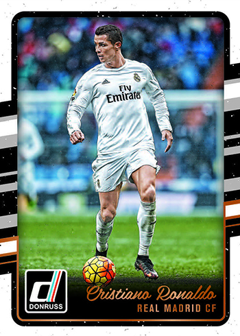 2016-17 Donruss Soccer Base Ronaldo