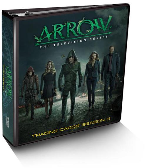 2016 Arrow Season 3 Binder