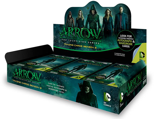 2016 Arrow Season 3 Box