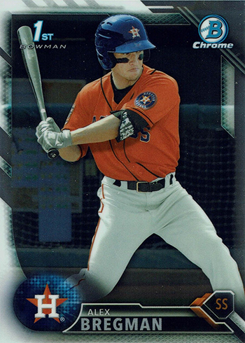 2016 Bowman Chrome Prospects Alex Bregman