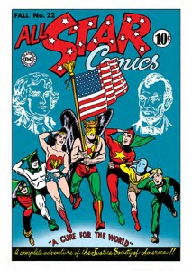 2016 Cryptozoic Justice League All Star Comics