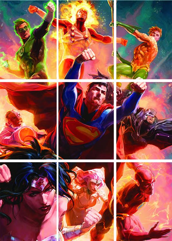 2016 Cryptozoic Justice League Base